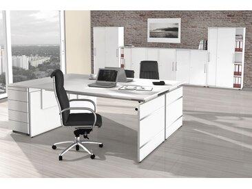 FORM 4 Büromöbel Set, 2 Arbeitsplätze 400x500