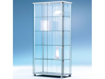 FORUM Glasvitrine mit Flügeltüren b83xt43xh176cm