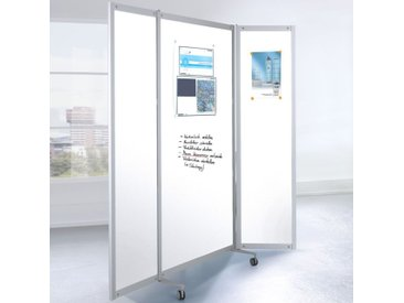 SCREEN-INTRO Mobile Faltstellwand, 3-teilig, b100(200)xt45xh190cm