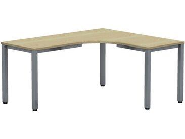 EXPERT Kompakttisch mit Quadratrohrgestell, Anschlußmaße 80/60cm