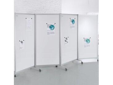SCREEN-INTRO Mobile Faltstellwand, 4-teilig, b100(370)xt45xh190cm