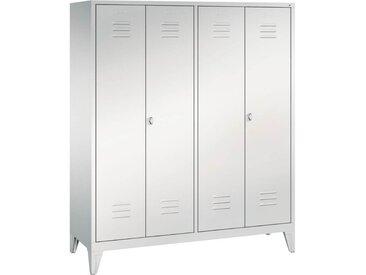 C+P Garderobenschrank mit zueinanderschlagenden Türen, b159xt50xh185cm