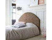 Kopfteil für Bett Bettkopfteil Doppelbett rund 160 kubu Korb Schlafzimmer