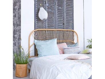 Kopfteil für Bett aus Rattan 160 cm Schlafzimmer Doppelbett Kopf