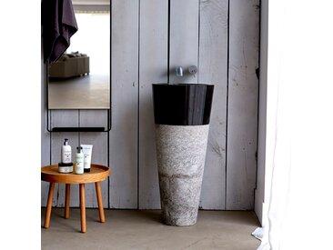 Marmor Waschbecken Waschschale Waschtisch Stein Steinbecken Marmorfuß Neu Bad