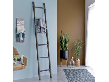 Leiter aus Bambus Handtuchhalter Kleiderständer asiatischer Stil 200 cm