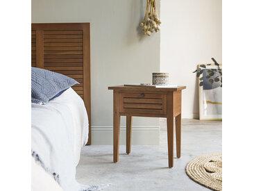 Nachttisch aus Mahagoni Holz Loggia