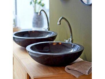Marmor Waschbecken Waschschale Waschtisch Stein Steinbecken Neu Bad Tikamoon