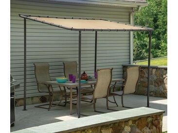Shelter-Logic-Stoffpavillon und Terrassenüberdachung - beige - Tchibo
