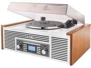 Dual »NR 7« Stereo-Nostalgie-Musikanlage mit Plattenspieler - Braun - Tchibo