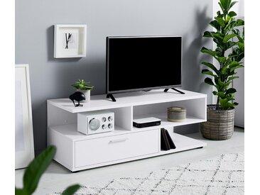 TV-Lowboard - silber - Holz - Tchibo