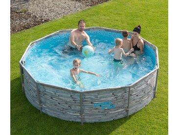 Summer-Waves-Active-Frame-Pool - Grau - Tchibo