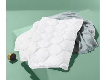 TENCEL™-Steppbett - Weiß - Lyocell - Tchibo- Maße: 155 x 220 cm