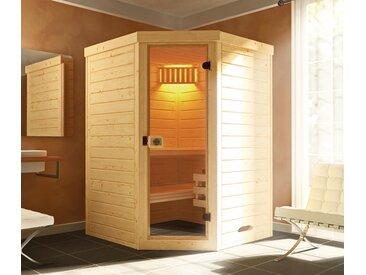 WEKA-Design-Sauna »Lahti« - naturfarben - Massivholz - Tchibo
