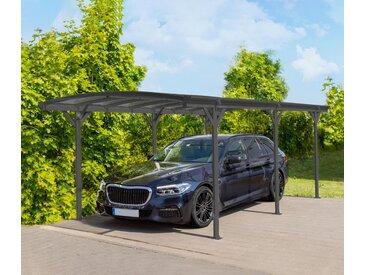 Westmann-Aluminium-Rundbogen-Carport - anthrazit - Tchibo