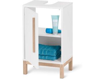 Kleiner Waschbeckenunterschank - braun - Holz - Tchibo