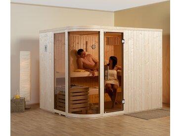 WEKA-Design-Sauna »Holm« mit 9 - naturfarben - Holz - Tchibo