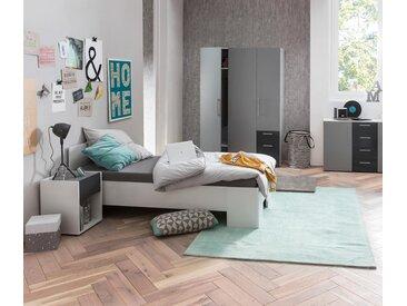 Schildmeyer-Jugendbett »Laurin« - Weiß - Holz - Tchibo