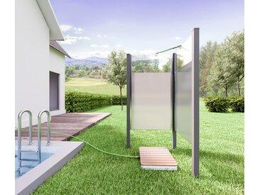 Breuer®-Outdoor-Bodendusche »Fontana« - silber - Tchibo