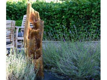 Dobar Gartenbrunnen in Baumstamm-Optik - Braune Baumstammoptik - Tchibo