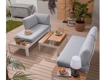 Loungemöbel-Set - weiß - Tchibo