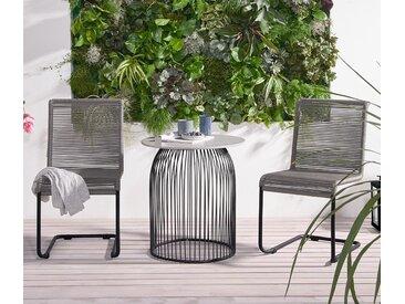Gartenstuhl »Swing« - schwarz - Tchibo