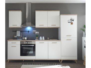 respekta-Premium-Retro-Küchenblock - braun - Edelstahl - Tchibo