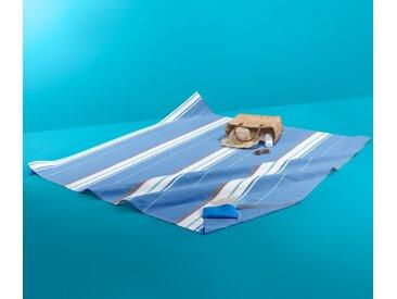 Extragroßes Strandtuch - dunkelblau - 100% Baumwolle - Tchibo