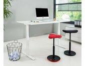 Topstar-Schreibtisch - weiß - Holz