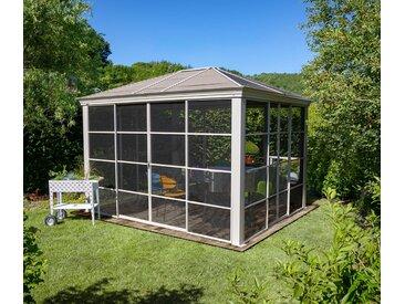 Sojag-Pavillon mit Stahldach - beige - Edelstahl - Tchibo