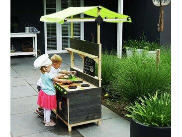 EXIT-Outdoor-Spielküche »Yummy 300« - grün - Tchibo
