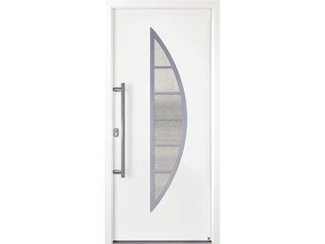 KM Meeth Aluminium-Haustür »A606-3D-S2« - Weiß - Tchibo