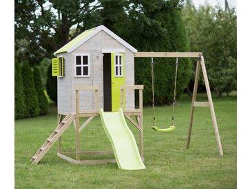 Wendi-Toys-Kinderspielhaus »Elefant Lime« - weiß - Kiefer - Tchibo