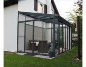 Palram-Wintergarten »San Remo« - anthrazit