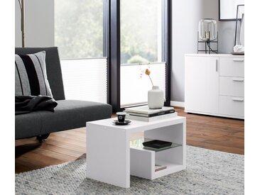 Vario-Beistelltisch - Weiß - Holz - Tchibo