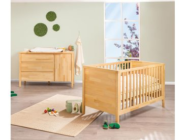 Pinolino-Babyzimmer »Enno« aus Massivholz - naturfarben - Massivholz - Tchibo