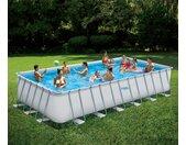 Summer-Waves-Frame-Pool - Weiß