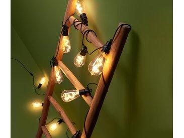 LED-Filament-Outdoor-Lichterkette - schwarz - Tchibo
