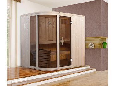 WEKA-Design-Sauna »Holm« mit 7 - naturfarben - Holz - Tchibo