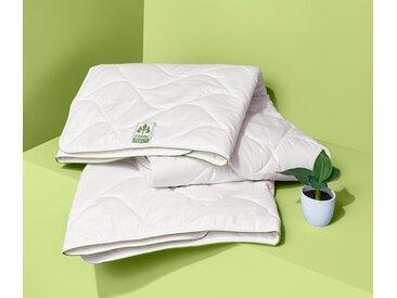 irisette® greenline Baumwoll-Steppbett - Weiß - 100% Baumwolle - Tchibo- Maße: 155 x 220 cm