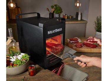 »MeatBoss« elektrischer Hochtemperaturgrill bis zu 850 °C - Schwarz - Edelstahl - Tchibo