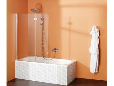 Breuer-»Fara 5«-Drehfalttür für die Badewanne - silber - Tchibo