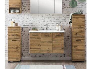 Schildmeyer-Waschtisch mit Waschbecken »WT 850 Nora«  - schwarz - Holz - Tchibo