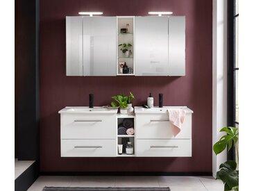 Schildmeyer-Doppelspiegelschrank »Runa SET Spiegelschrank Irene« - weiß - Holz - Tchibo