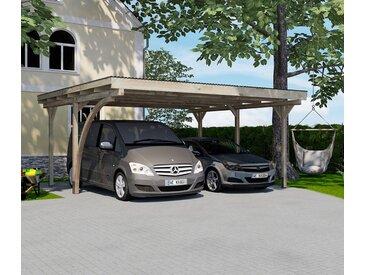 WEKA-Doppel-Carport »Komfort« - schwarz - Tchibo