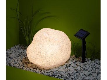 Solar-Leuchte »Stein« - Grau - Tchibo