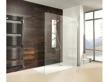 Breuer®-Dusche »Entra« – Duschwand Klarglas - silber - Tchibo