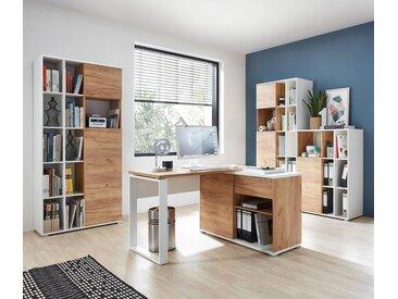 Germania-Eck-Schreibtisch »Lioni 4156-513« - braun - Holz - Tchibo