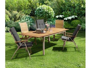 Ausziehbarer Gartentisch - naturfarben - Tchibo