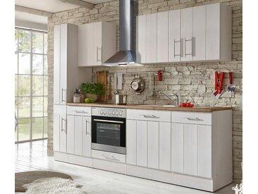 respekta-Premium-Küchenblock »Landhaus« - silber - Edelstahl - Tchibo